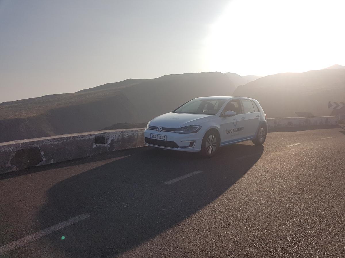 Vacaciones en Gran Canaria con un Volkswagen e-Golf