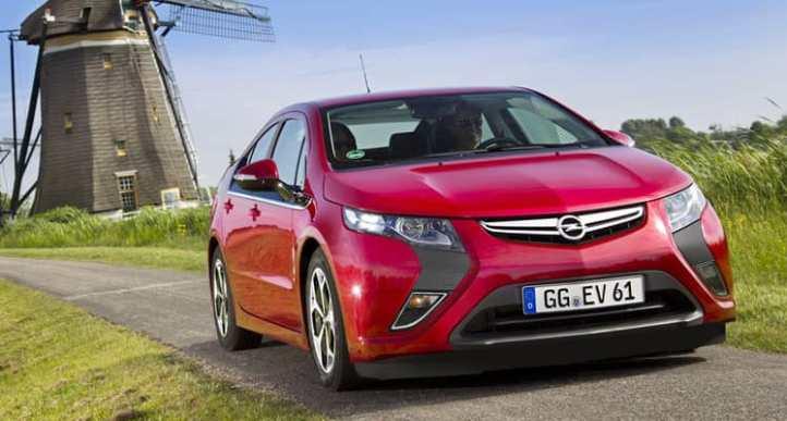 Opel Ampera Exterior