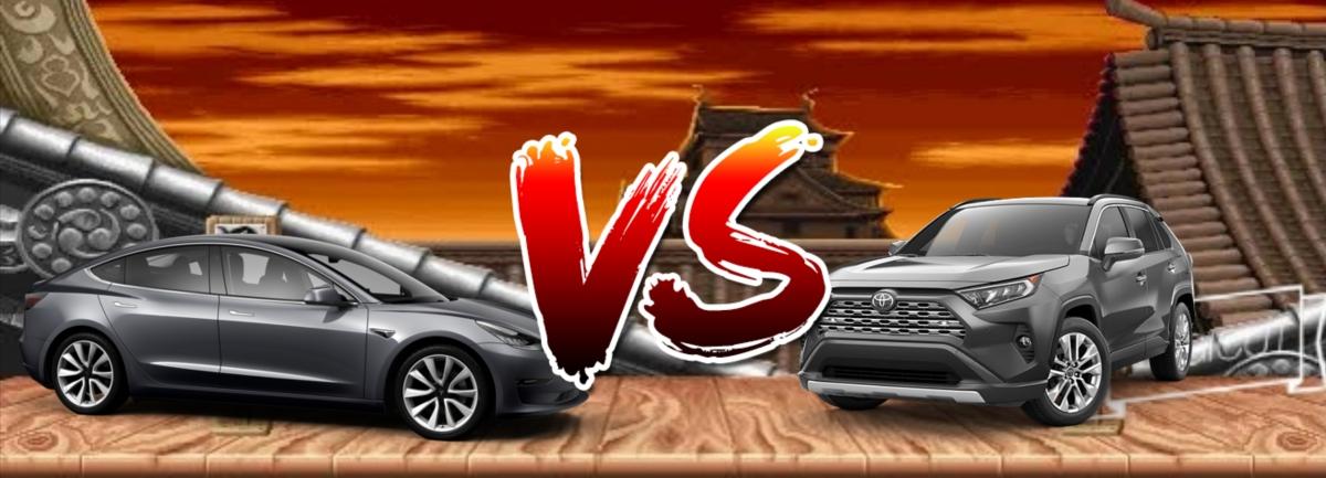 ¿Por qué comprarme un Toyota RAV4? Toyota RAV4 VS Tesla model 3